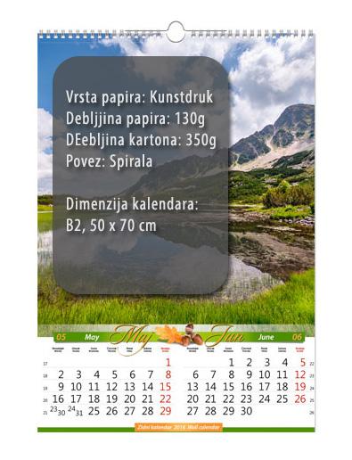 b2 13 lista kalendar