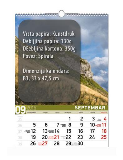 b3 7 lista kalendar