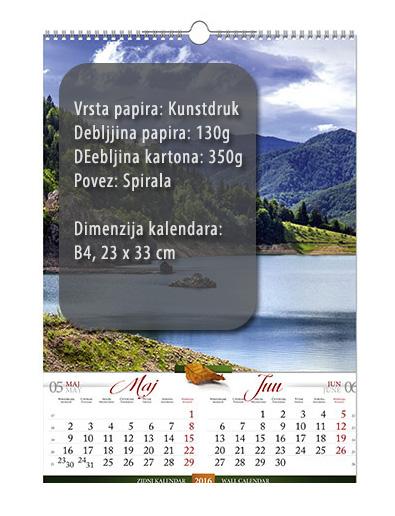 b4 13 lista kalendar